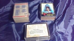 Desert Storm, Jaws 2 and Jaws 3D Trading Cards Complete Sets Stratford Kitchener Area image 5