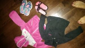 Girls 5 NorthFace/Under Armour lot