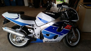 I don't want to sell this Suzuki GSXR