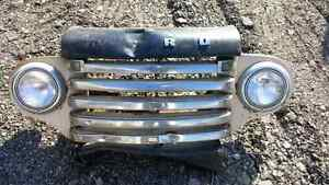 Western 1948-50 grill assembly.