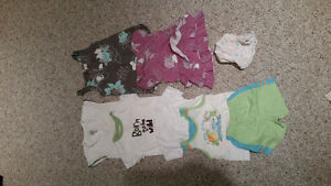 Assortment of summer clothes for 6-12 months