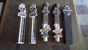JUNCTION CRAFT ALE BEER SANDWICH BOARD  & 4 TAP HANDLES
