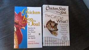 2 Chicken Soup/Poop books