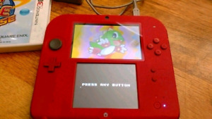 2DS SYSTEM WITH CHARGER AND GAME 3DS