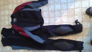 << wet suit >>