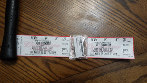 2 tickets for Larry the cable guy and Jeff Foxworthy
