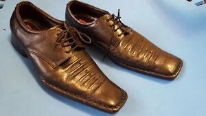 Black Dress Shoe with laces