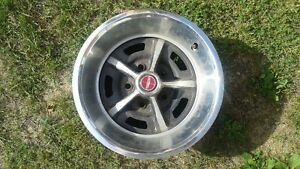 "4 1970'S FORD RALLY RIMS 14"" 8"" WIDE"
