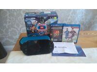 Immaculate PS VITA and two games