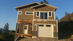 New Home Under Construction in Summerland