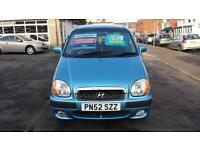 2002 HYUNDAI AMICA 1.0 GSi Automatic 5 Door From GBP2,495 + Retail Package