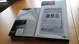 "Sony 6"" eBook Reader PRS-T1 Wi-Fi + Case like NEW in Box"