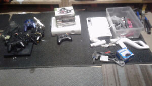 Xbox 360 Wii and ps2 systems