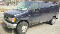 1999 Ford XLT E-350 Cargo Van - Power Windows and Locks