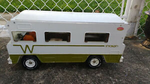 Antique vintage tonka camper indian
