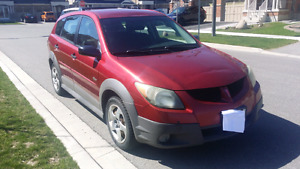 Pontiac Vibe 2004 Automatic, incl winter tires on rims
