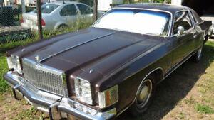 1979 Chrysler Cordoba Coupe (2 door)
