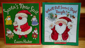 Laura Rader Santa Claus children's picture books