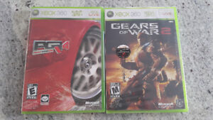 Lot of 2 BRAND NEW MANUFACTURER SEALED XBOX 360 games