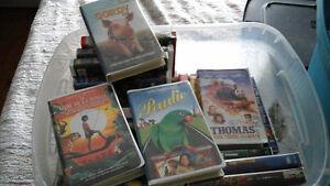 cassettes videos et raquettes