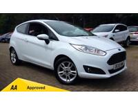2016 Ford Fiesta 1.25 82 Zetec (Nav) 3dr Manual Petrol Hatchback