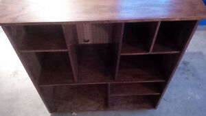 Solid Oak stained display case Kitchener / Waterloo Kitchener Area image 9
