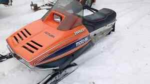 1980 Moto-Ski Futura LC Electra, with cover and ownership$1600