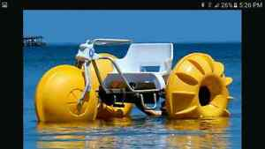 Looking for a 3 wheeler paddle trike for water.