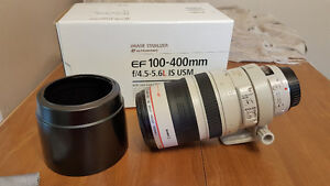 CANON EF 100-400 4.5-5.6L IS - USED