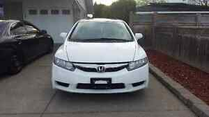 2009 Honda Civic SPORT White 4 door - Cert &Etested