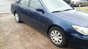 2005 Toyota Camry Le Sedan for 3500 firm or trade for another ve