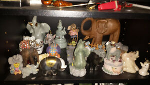 grande collection de 200 éléphant de collection aubaine $$$