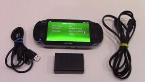 PS Vita 1001 noir a vendre / Black PS Vita 1001 for sale