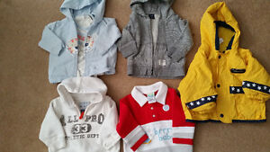 3 Sweater, 1 Spring Jacket 12mths