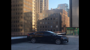 Black on Black Hybrid Electric Lease Takeover w Limo Tint