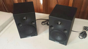 Yamaha studio monitor speakers one pair