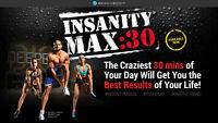 insanity max 30 -Shaun T+guides et calendriers+dvd Bonus