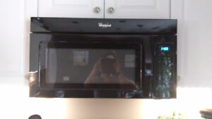 2 year old Over the range microwave for sale