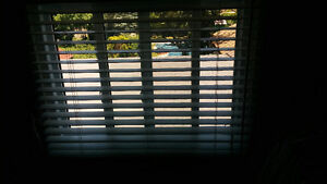 Exclusive Levolor vertical ivory wood blinds... London Ontario image 2