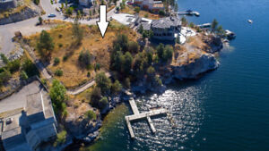 WATERFRONT LOT in the heart of Lake Country.
