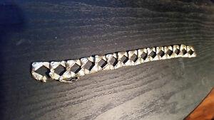** 10k Cuban Link Bracelet ** pour homme 9'' pouce. neg