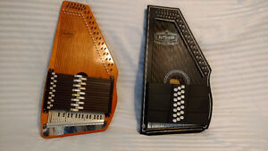 21 and 15 Chord Autoharps for sale