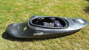 Jackson Super Fun kayak with happy feet and happy seat