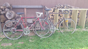 1 velo sport, 1 raleigh marquis