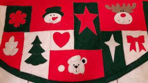 5 stockings and matching tree skirt London Ontario image 3