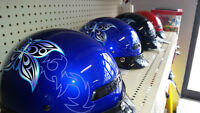Buy one get one FREE on all butterfly helmets at Daymak Windsor
