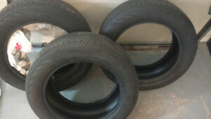 Tires ( 2 summer run flats tires and one winter tire regular)