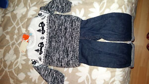 NWT Outfit - jeans , sweater and inside shirt