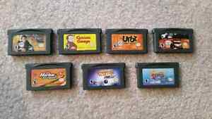 Gameboy Advance game lot, 7 GBA games