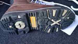 "Dakota X Toe 8"" Steel Toe Boots Size 6.5 Ladies"